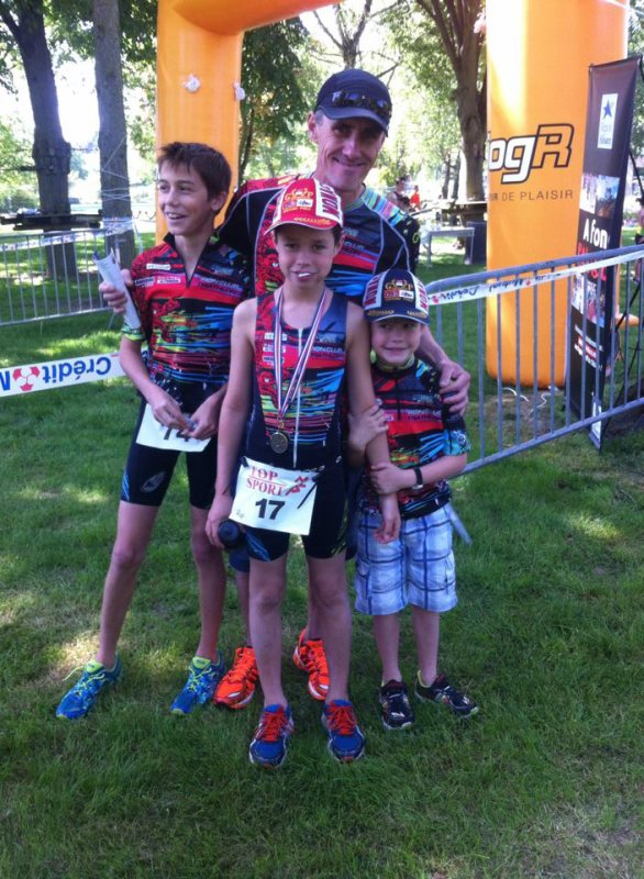 Aquathlon de Mulhouse le 10 mai 2015