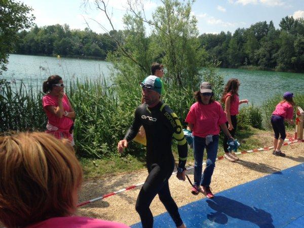 Triathlon du Semnoz le 24 mai 2015 à Rumilly (74)