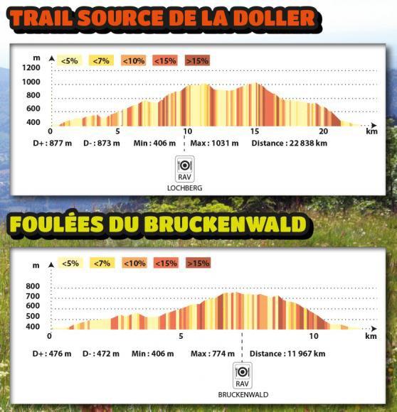 Trail Source de la Doller et foulées du Bruckenwald à Masevaux (68) :le 31 mai 2015