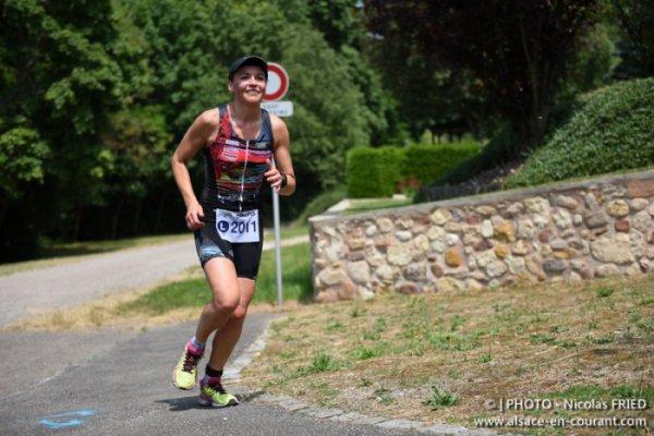 17ème Triathlon international d´Obernai (67) le 7 juin 2015