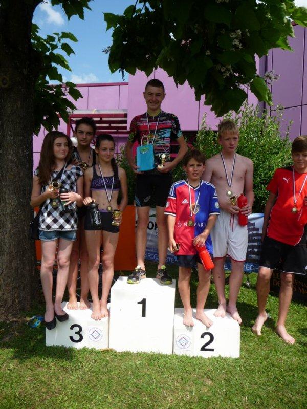 Triathlon de Boncourt (Jura Suisse) le 27 juin 2015