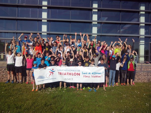 Class Triathlon Alsace à Selestat (67) le jeudi 8 mai 2016