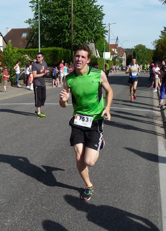 Course de la Rhubarbe Spechbach-le-bas(68) 21 mai 2016