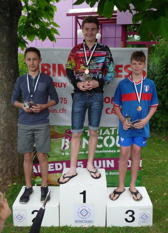 Triathlon de Boncourt(CH) le 25 juin 2016