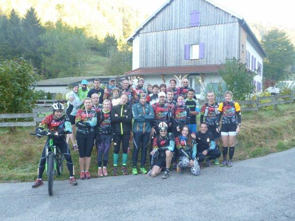 Week-end sportif à Bussang dans les Vosges (88) les 15 et 16 octobre 2016