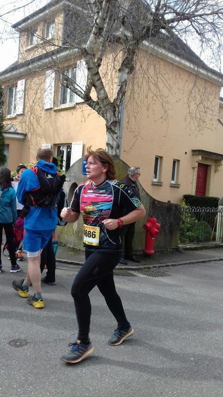 Trail du Petit Ballon à Rouffach (68) le dimanche 19 mars 2017