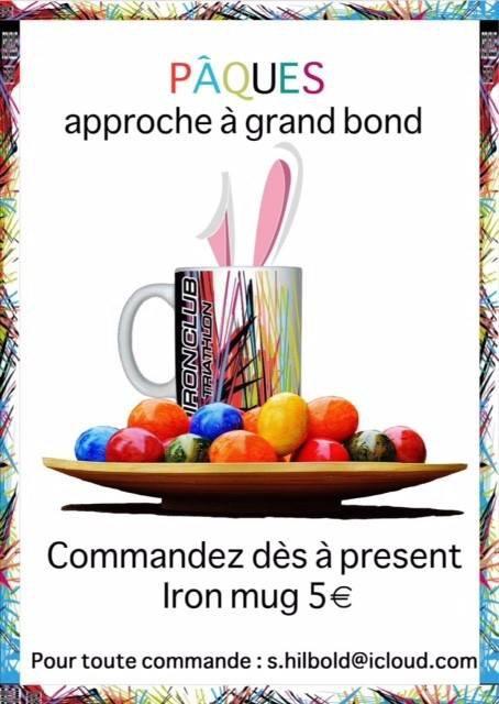 IRONMUGS pour Pâques