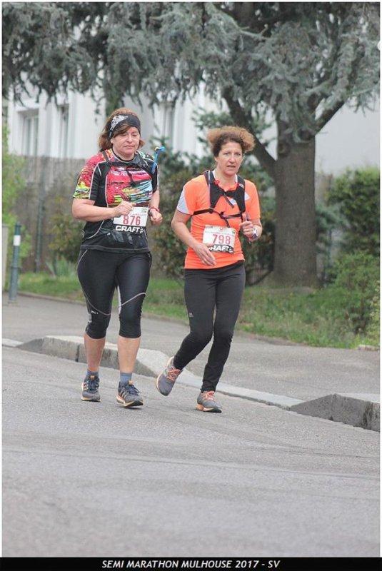 Semi-marathon de Mulhouse(68) le 2 avril 2017
