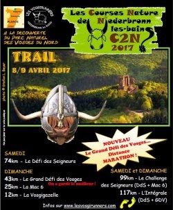 Le Grand Défi des Vosges - Défi des Seigneurs - la MAC6 les 8 et 9 avril 2017