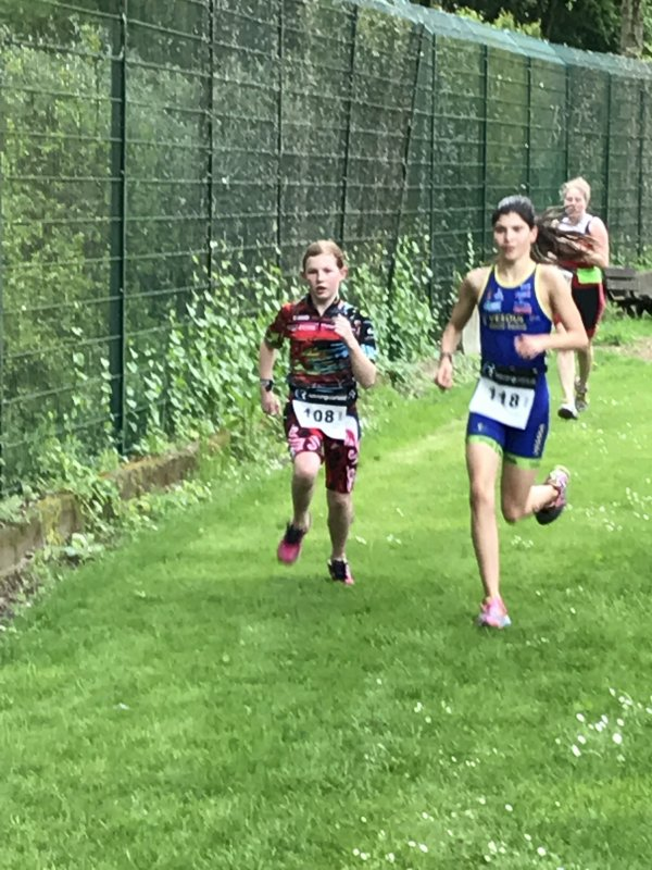Aquathlon de mulhouse (68) le 7 mai 2017