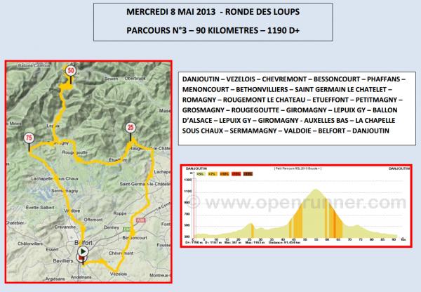 Ronde des Loups à Danjoutin (90) et FSGT 20ème GP cycliste de Vauthiermont le 8 mai 2017