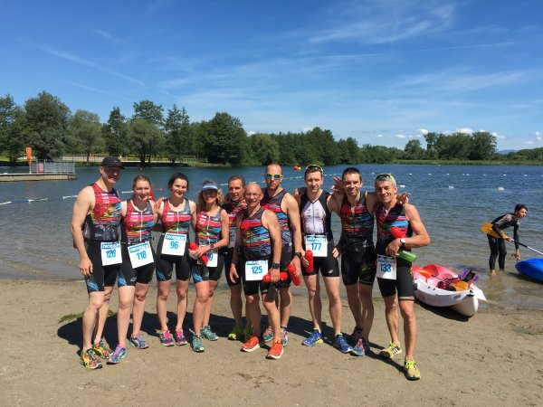 Triathlon du pays de Montbeliard (25) le 21 mai 2017
