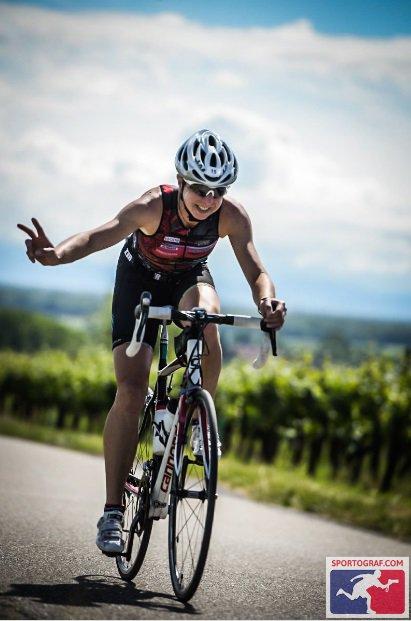 Triathlon international d´Obernai (67) le 4 juin 2017