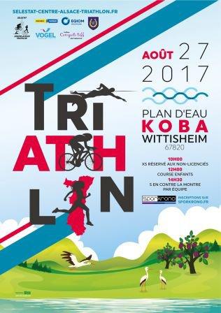 Triathlon de Wittisheim (67) le 27 août 2017