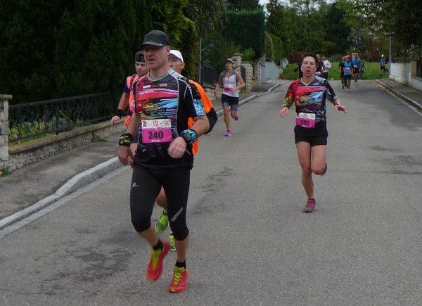 GMTU Grand Mulhouse Trail Urbain à Mulhouse(68) et les  10 bornes de l'agglomération de Montbeliard (25) le 8 octobre 2017