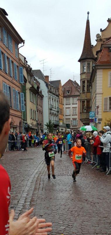 Courses DNA de Colmar (68) le 5 novembre 2017