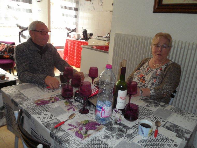 Petit repas avec mes parents