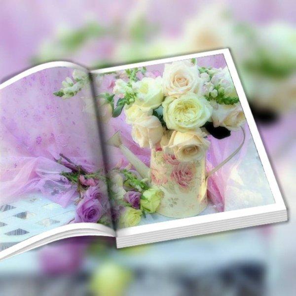 Je vous laisse avec ce livre aux couleurs pastels , je pars au travail , bonne journée à tous bisous...