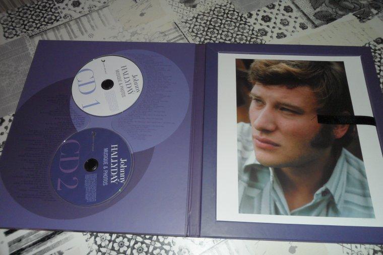 UN BEL ALBUM SOUVENIRS .... 2 CD ET 20 PHOTOS....