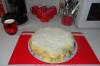 Replongée dans la patisserie .... Gâteau multifruits et crème patissière.....ça fait du bien de rester chez sois quelques jours sans sortir....
