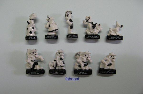 Série  LUCKY LUKE NOIR ET BLANC  2012 à la vente  10 euros + FDP