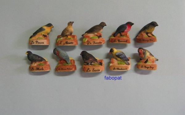 Série  LES OISEAUX DE NOS RÉGIONS  2005  à la vente 10 euros + FDP