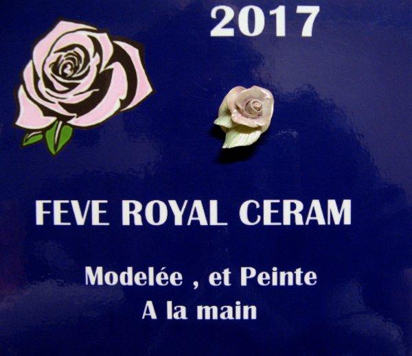 1er Salon organisé par l'AFS, et fève Royal Céram.....