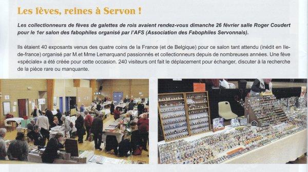 Premier Salon Fabophiles à SERVON