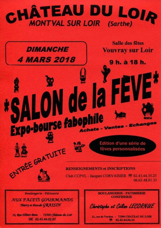 L'AFS sera présente en visiteur au Salon de La Fève au Château du Loir (Sarthe)