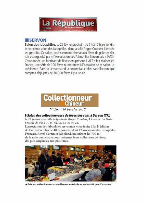 Salon AFS du 25 Février dans la presse....