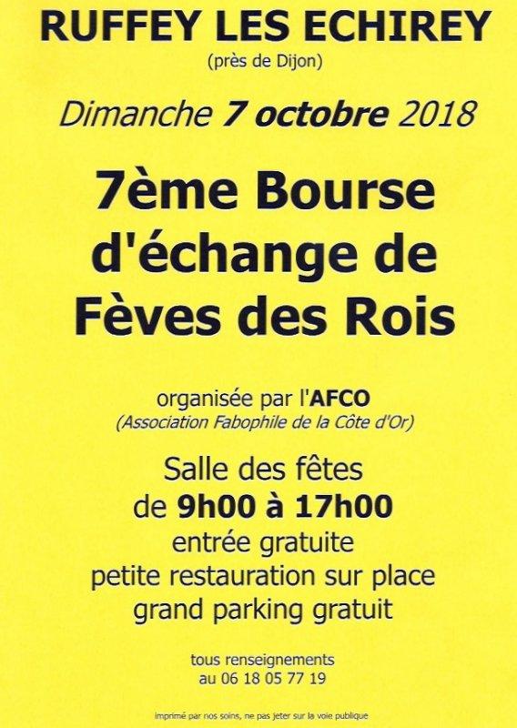 L'AFS sera présente en tant qu'Exposant à La Bourse d'échange de Ruffey Lès Echirey