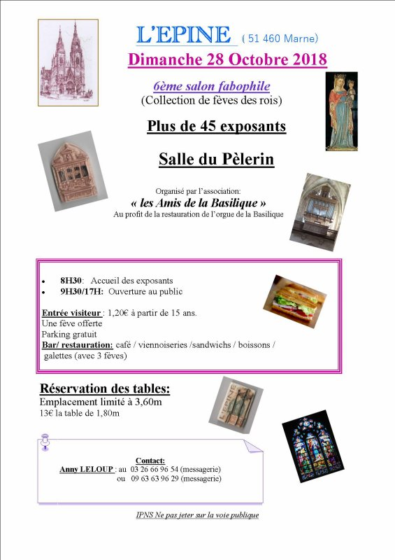 Les Prochaines Présences de l'AFS en Salons....Les 27 & 28 Octobre - Le 1er Novembre