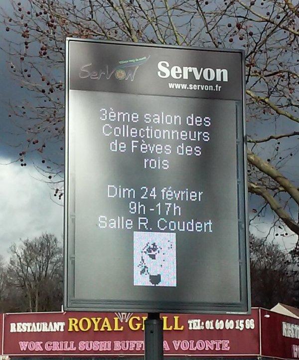 Le Salon AFS 2019 en ligne à SERVON, Seine & Marne