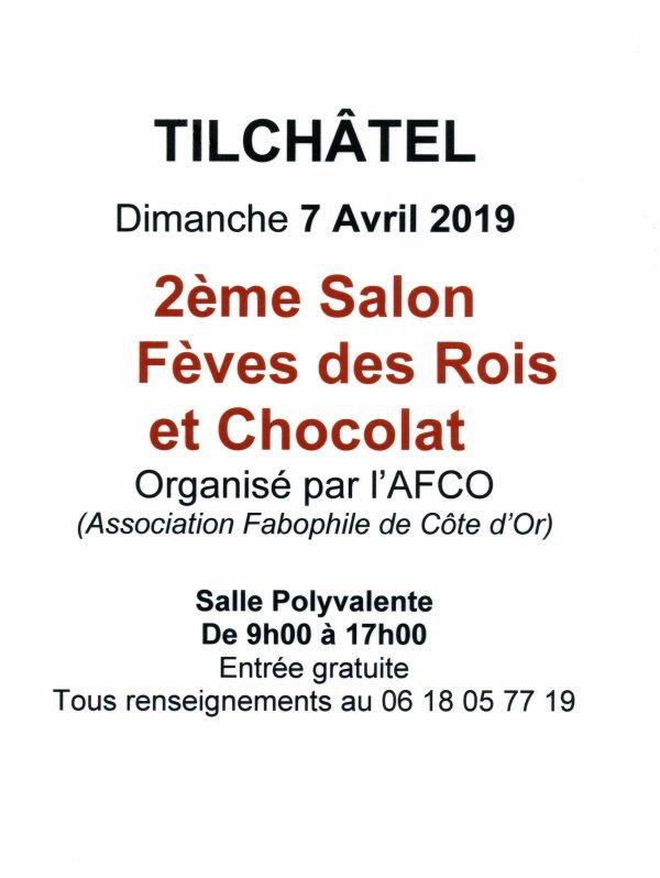 L'AFS sera présente au Salon Fèves et Chocolat Tilchâtel
