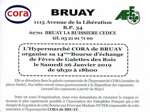 L'AFS sera présente en tant qu'Exposant à La Bourse d'Echange de BRUAY, le 26 Janvier 2019