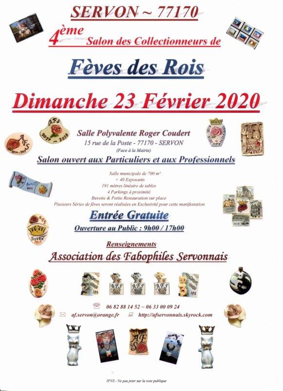 L'AFS organise son 4 ème Salon de Fabophiles à Servon 77