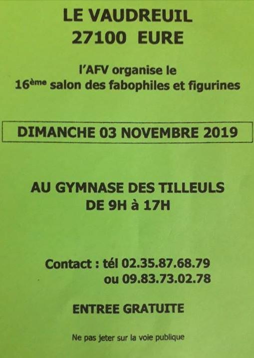 L'AFS sera présente en tant que Visiteur au Salon du Vaudreuil