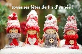 """Le Bureau de l'AFS vous souhaite à Tous de """"Joyeuses Fêtes de Fin d'Année"""""""
