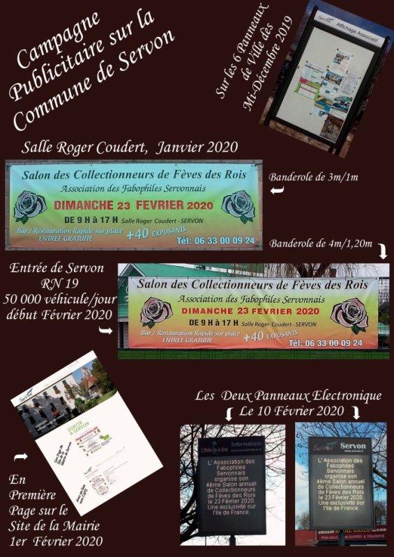 Une Campagne Publicitaire Bien Remplie......sur la Commune de SERVON!!!!