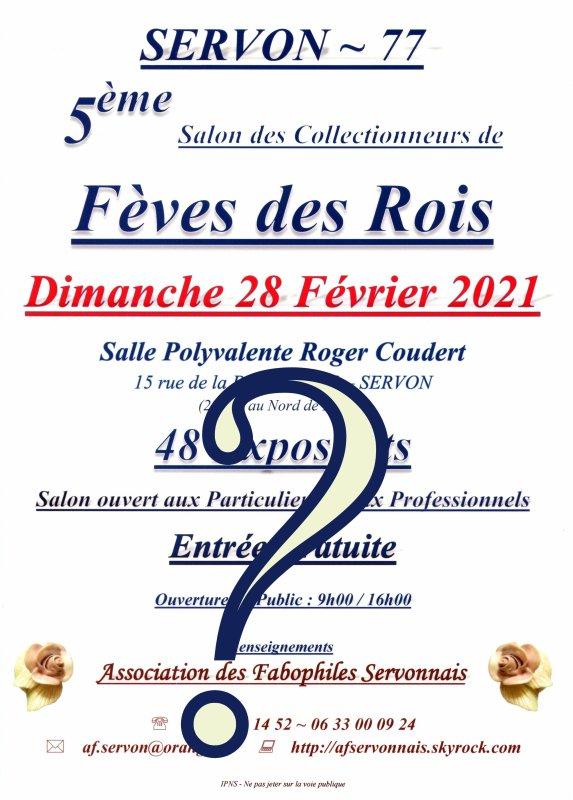 Salon AFS du 28 Février 2021...Grande Question????