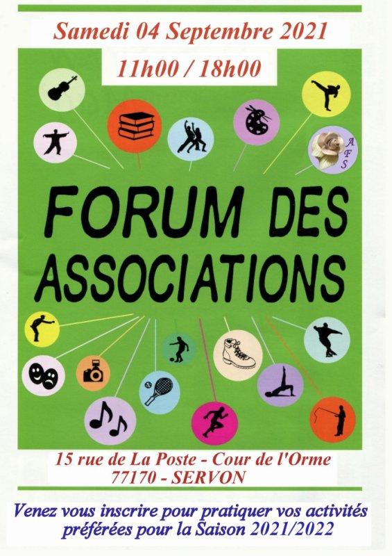 L'AFS sera présente au Forum des Associations de Servon.