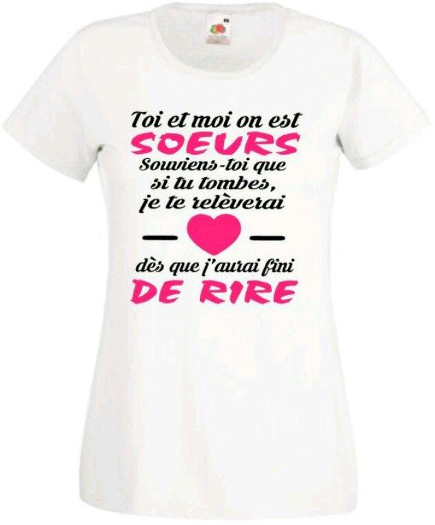 Messages t-shirt qui me correspondent bien :')