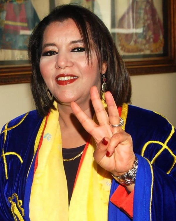 Grande Artiste Amazighe et  Militante Fatima Tabaamrant