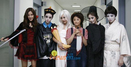 Quand les K-Idols rencontrent un déguisement...
