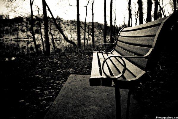 Assis sur un banc... Part 1