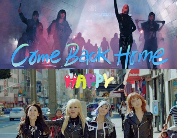 Les 2NE1 sont de retour avec 2 Mvs!