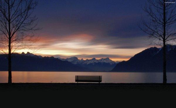 Assis sur un banc... Part 14