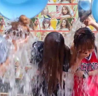 Le Ice Bucket Challenge, la tendance rigolote mais pas totalement inutile.