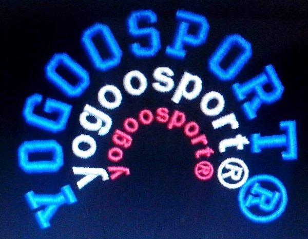 (Personnalisation)des Vêtements de la marque yogoosport®(&)une marque de vêtements de Sports...