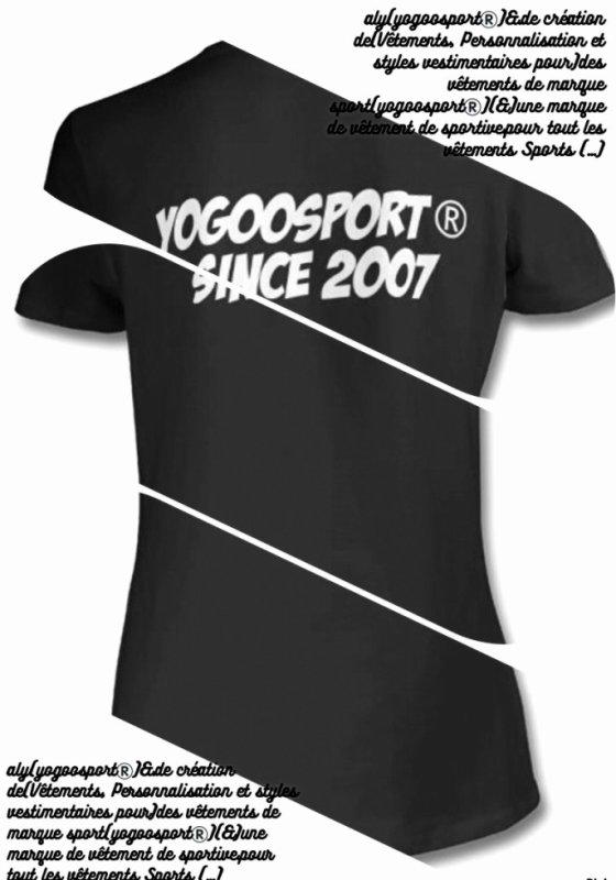 aly(yogoosport®)&.de création de(Vêtements,Personnalisation et styles vestimentaires pour)des vêtements de marque sport(yogoosport®)(&)une marque de vêtement de sportive.pour tout les vêtements Sports (...)